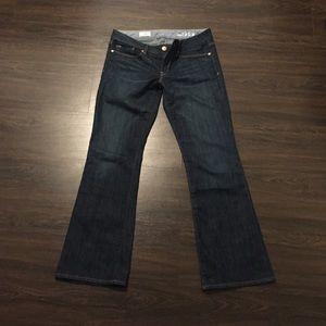 Gap Sexy Boot Cut Jeans Dark Blue Size 6A